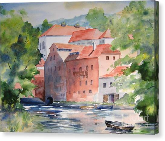 Vlatava Mill Canvas Print