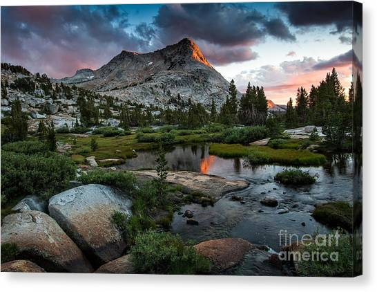 Vogelsang Peak Canvas Print