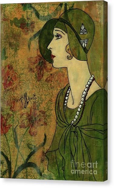 Vogue Twenties Canvas Print