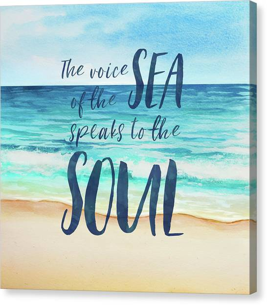 Canvas Print - Voice Of The Sea by Amanda Lakey