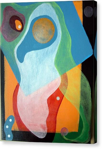 Voile Canvas Print by Muriel Dolemieux