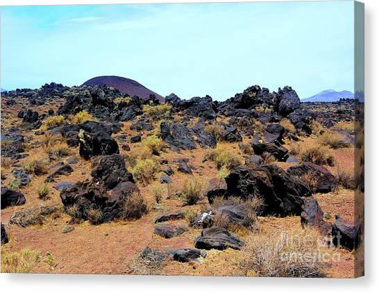 Volcanic Field Canvas Print
