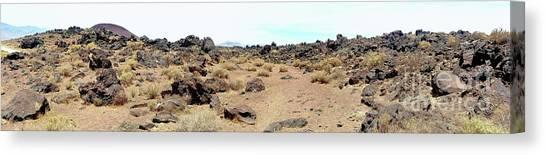 Volcanic Field Panorama Canvas Print
