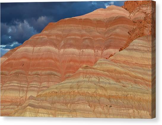 Bishop Hill Canvas Print - Volcanic Rainbow by Kathleen Bishop