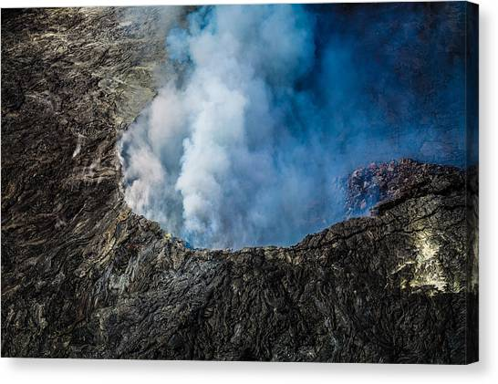 Another View Of The Kalauea Volcano Canvas Print