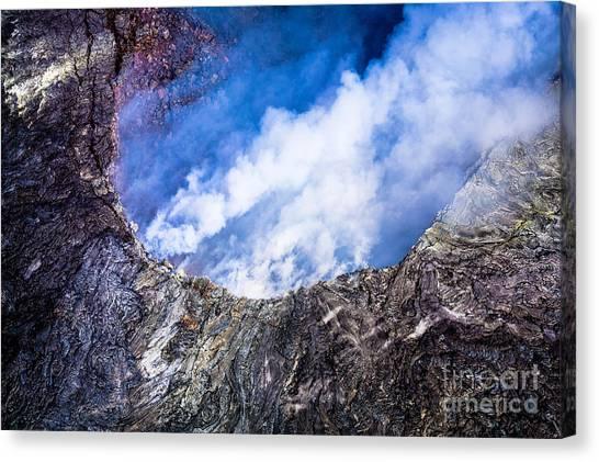 Kilauea Volcano Canvas Print