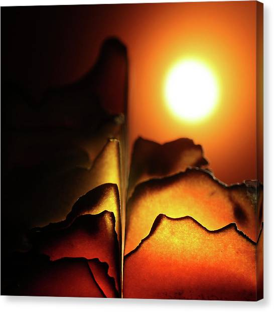Volcanoes Canvas Print