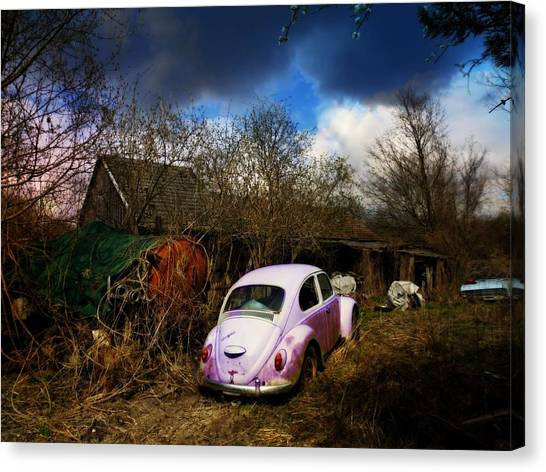Volkswagen Graveyard Canvas Print