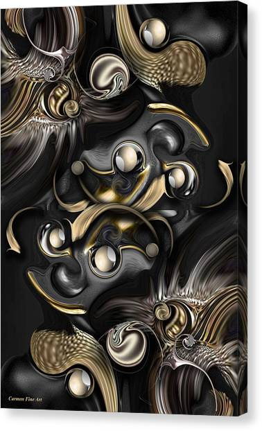 Volume With Formation Canvas Print