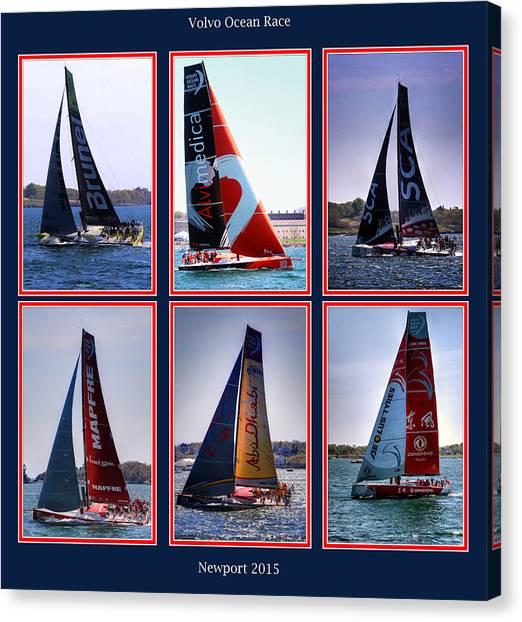 Volvo Ocean Race Newport 2015 Canvas Print