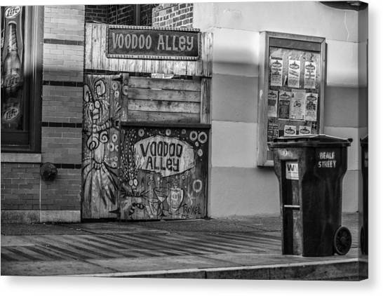 Voodoo Alley Canvas Print