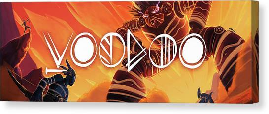 Voodoo Canvas Print by Elijah Clark