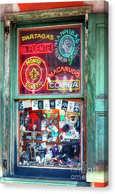 Rev Zombies Canvas Print - Voodoo Window Colors by John Rizzuto
