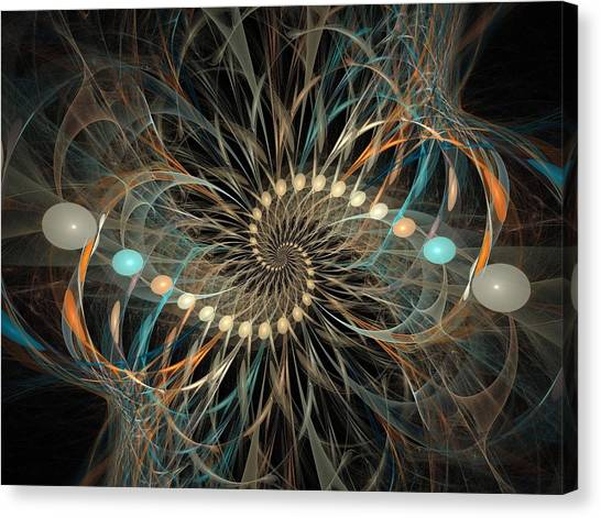 Vortex Canvas Print by David April