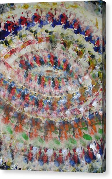 Vortex Canvas Print by Russell Simmons
