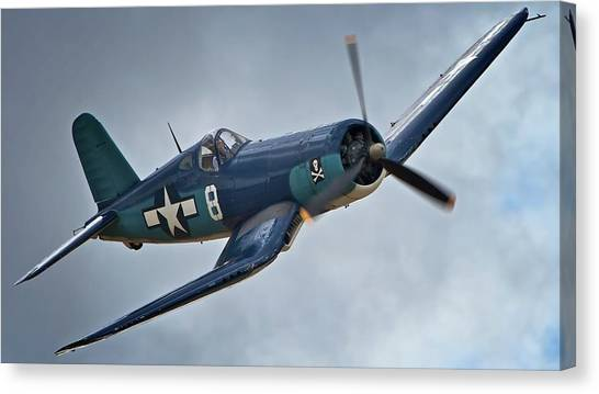 Vought F4u Corsair 2011 Chino Air Show Canvas Print