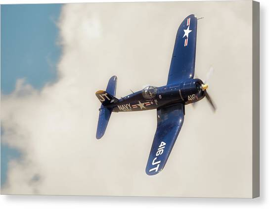 Vought F4u Corsair Canvas Print