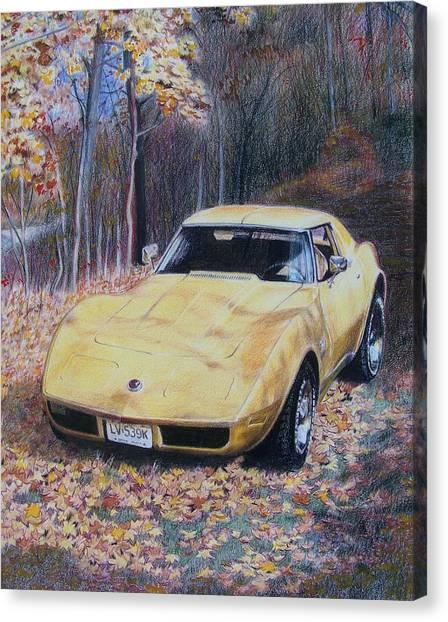 Vrooom Canvas Print