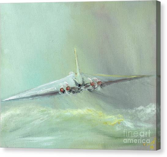 Vulcans Canvas Print - Vulcan B1 Sortie by Vincent Alexander Booth