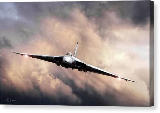 Vulcans Canvas Print - Vulcan Farewell by Peter Chilelli