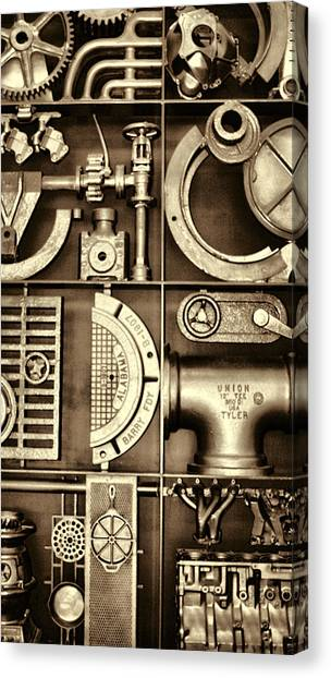 Vulcan Steel Steampunk Ironworks Canvas Print