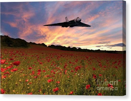 Vulcans Canvas Print - Vulcans End by J Biggadike