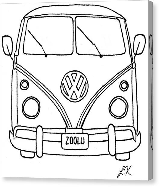 v w canvas prints page 10 of 10 fine art america VW Bus 1966 v w canvas print vw bus by lauren kirby