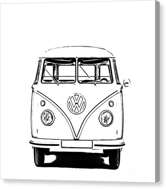 Bus  Canvas Print
