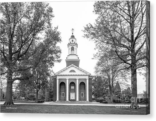 Liberal Canvas Print - Wabash College Chapel by University Icons