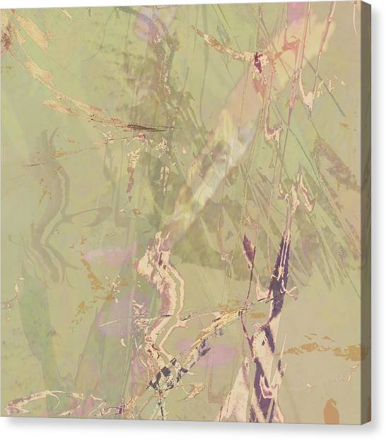 Wabi Sabi Ikebana Revisited Shabby 1 Canvas Print