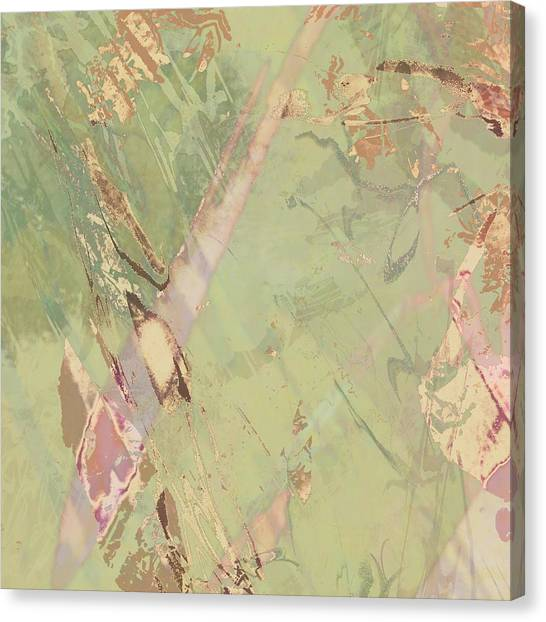 Wabi Sabi Ikebana Revisited Shabby 3 Canvas Print