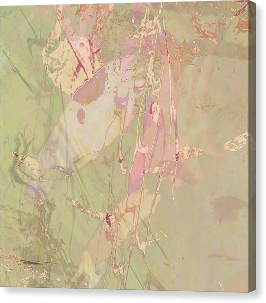 Wabi Sabi Ikebana Revisited Shabby 4 Canvas Print