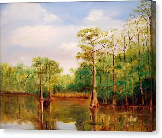 Waccamaw Breeze IIi Canvas Print
