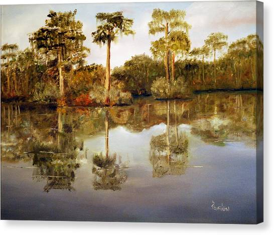 Waccamaw River Canvas Print