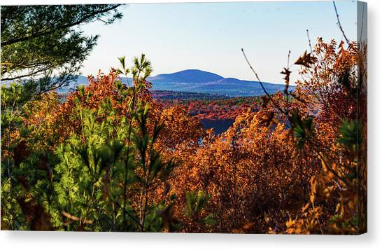 Wachusett In Fall Canvas Print