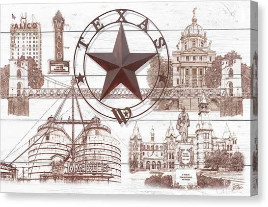 Hgtv Canvas Print - Waco Texas by Doug Kreuger