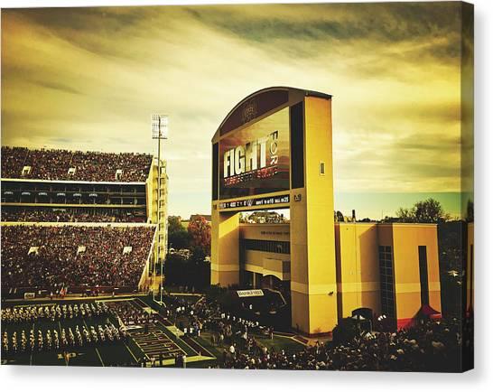 Mississippi State University Canvas Print - Wade Davis Stadium by Pixabay