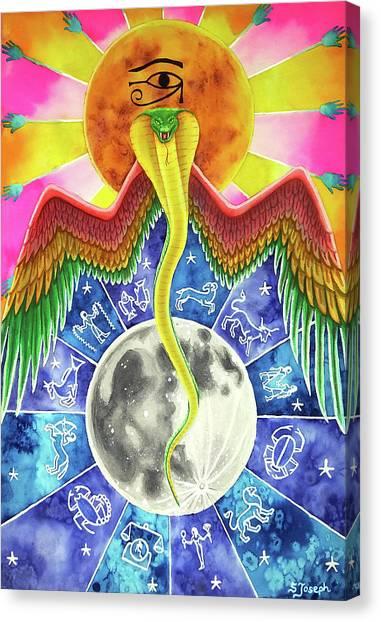 Wadjet Canvas Print - Wadjet by Sara Joseph