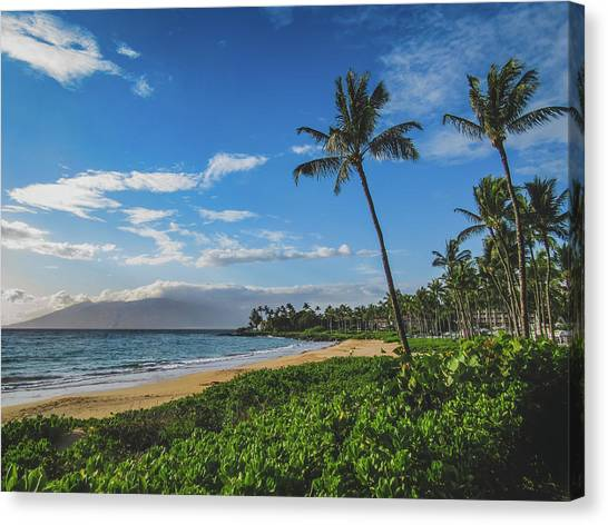 Wailea Beach Canvas Print