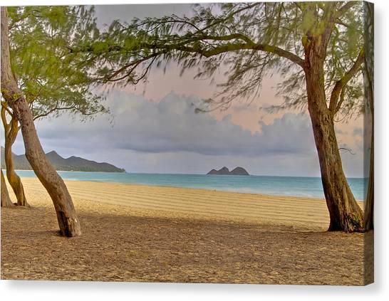 Waimanalo Beach Canvas Print