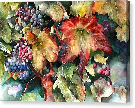 Waiting For Merlot Canvas Print