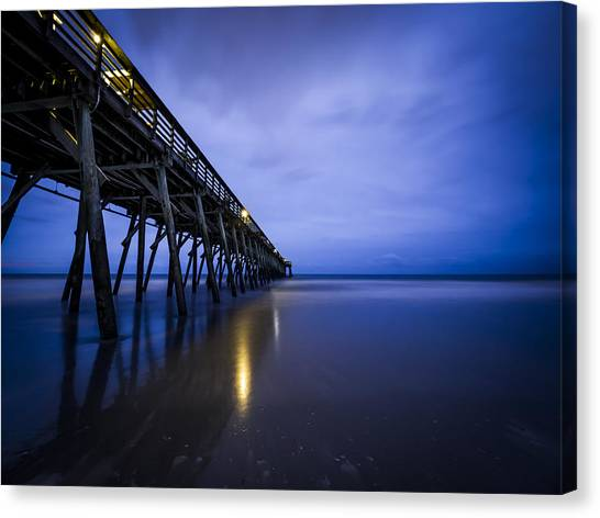 Waiting For The Dawn Canvas Print