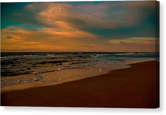 Waiting On The Dawn Canvas Print