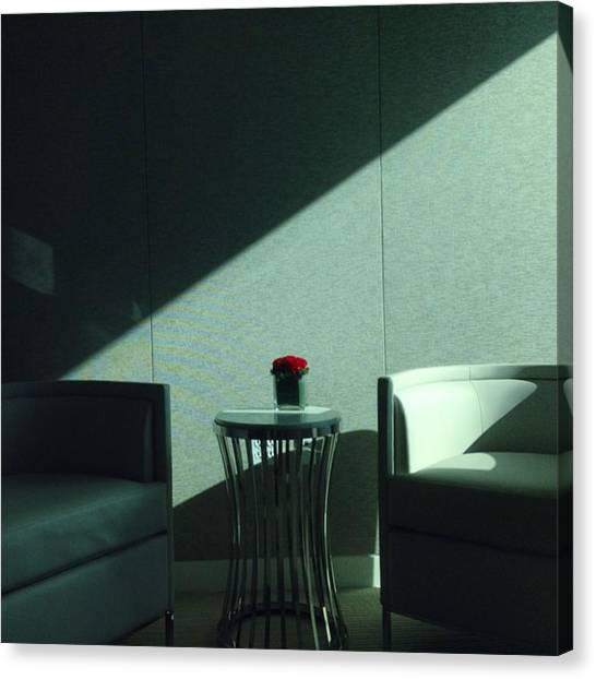 Miami Canvas Print - Waiting Room, Greenberg-traurig by Juan Silva