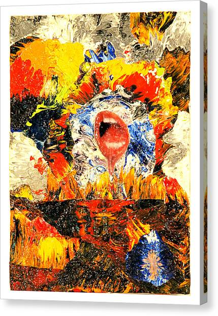 Waiting Room Canvas Print by Howard Goldberg