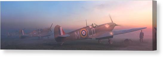 Luftwaffe Canvas Print - Wake Them Up by Hangar B Productions