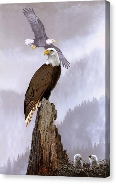 Wake Up Call Canvas Print by Harold Shull