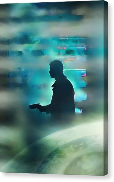 Bladerunner Canvas Print - Wake Up Its Time To Die by Scott Smith