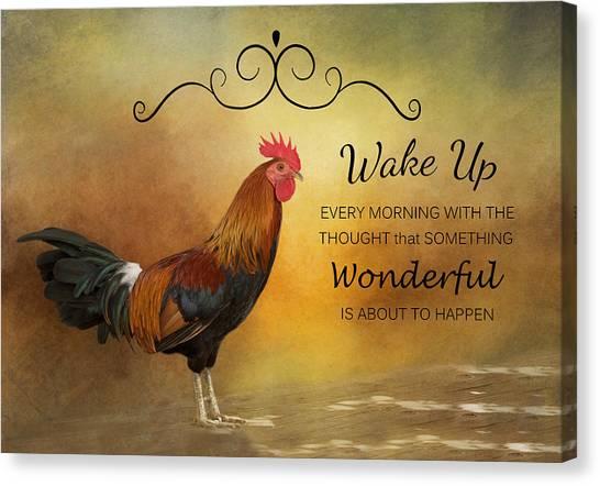 Wake Up Canvas Print