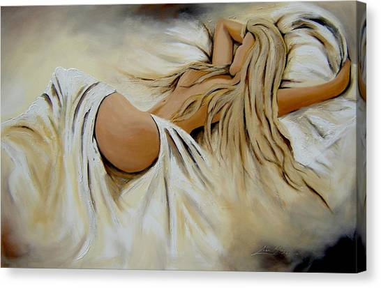 Wake Up  Canvas Print by Lori McPhee